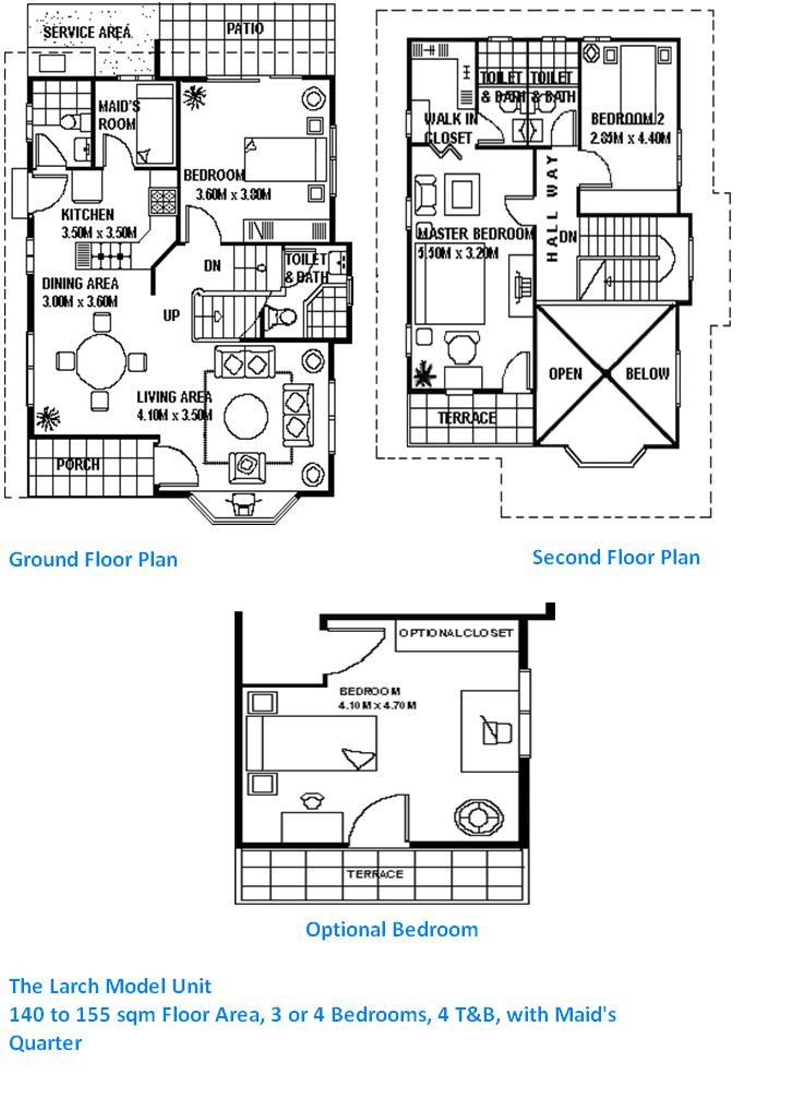 Pinoy home central for House plans with maids quarters